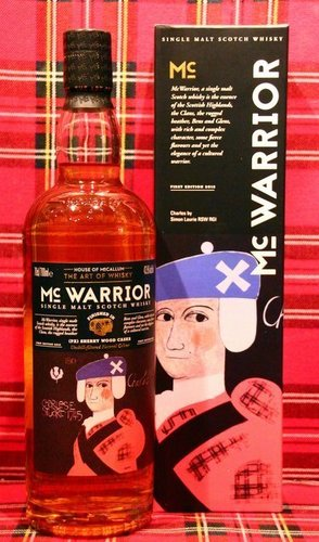 Mc Warrior; House of McCallum; PX Sherry Finish; 43,5%