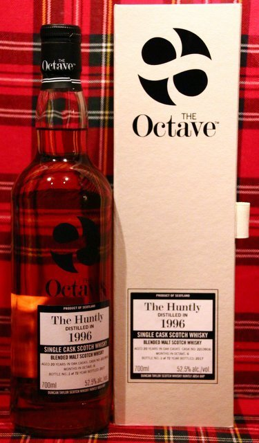 The Huntly; Duncan Taylor; The Octave Cask; 20 Jahre; 52,5%